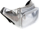 Fanny Pack Silver Fanny Pack - SoJourner Bags