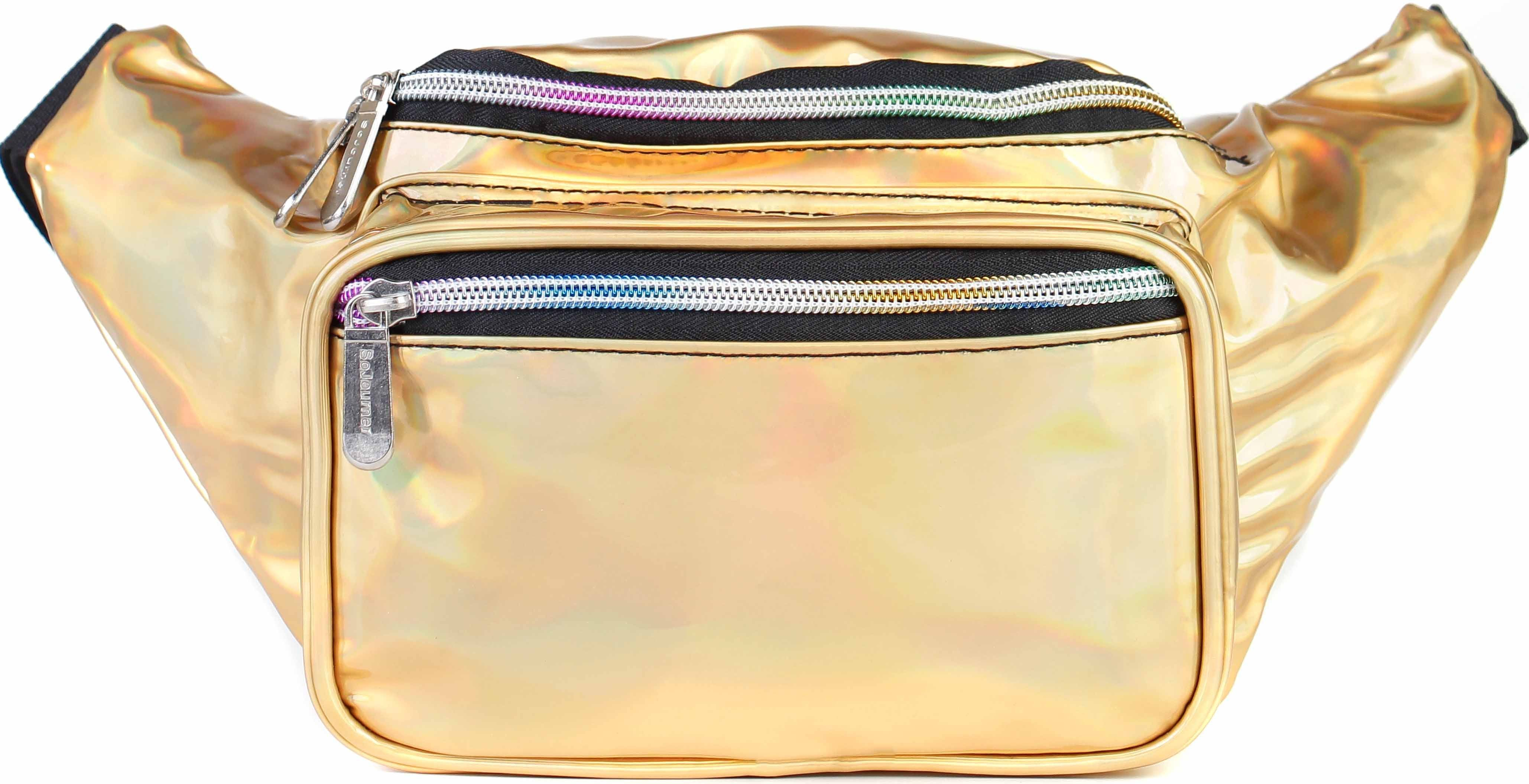 Holographic Sequin Fanny Pack