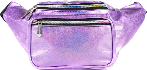 Fanny Pack Glitter Purple Fanny Pack - SoJourner Bags