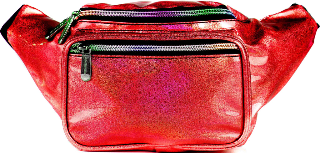 Fanny Pack Glitter Red Fanny Pack - SoJourner Bags