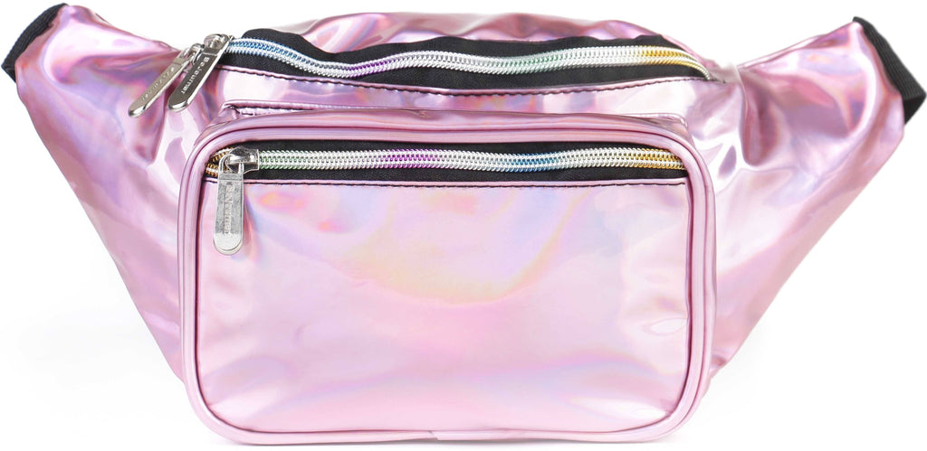 Fanny Pack Holographic Pink Fanny Pack - SoJourner Bags