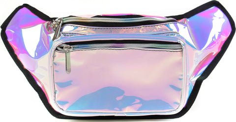 Fanny Pack Blue Iridescent Fanny Pack - SoJourner Bags