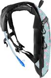 Hydration Pack Backpack - 2L Water Bladder - Flamingo