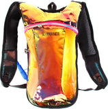 Hydration Pack Backpack - 2L Water Bladder - Iridescent Pink