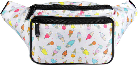 Fanny Pack Cute Ice Cream Fanny Pack - SoJourner Bags