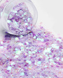 Fanny Pack Loose Chunky Cosmetic Holographic Body Glitter - Iridescent Unicorn - SoJourner Bags