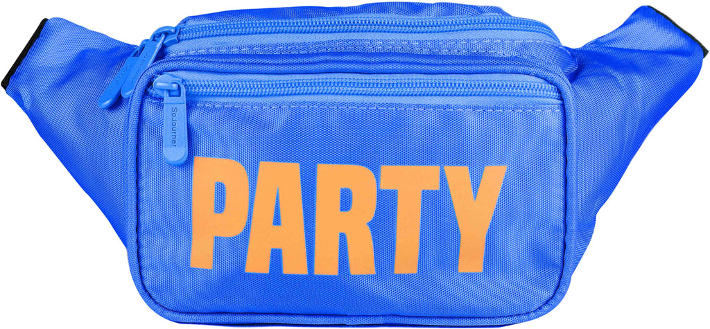 Fanny Pack Blue Neon Party Fanny Pack - SoJourner Bags
