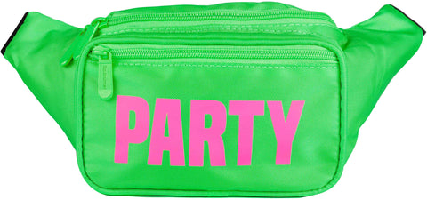 Fanny Pack Green Neon Party Fanny Pack - SoJourner Bags
