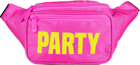 Fanny Pack Pink Neon Party Fanny Pack - SoJourner Bags