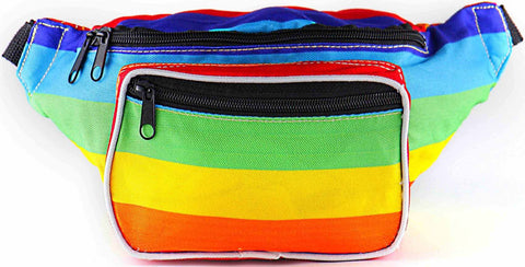 Rainbow Fanny Pack - SoJourner Bags - front