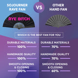 Fanny Pack SoJourner Bags Rave Hand Fan (Bye Bitch) - SoJourner Bags
