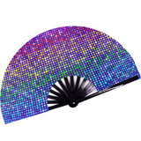 Fanny Pack SoJourner Bags Rave Hand Fan (Rainbow Lights) - SoJourner Bags