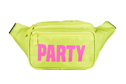 Fanny Pack Yellow Neon Party Fanny Pack - SoJourner Bags