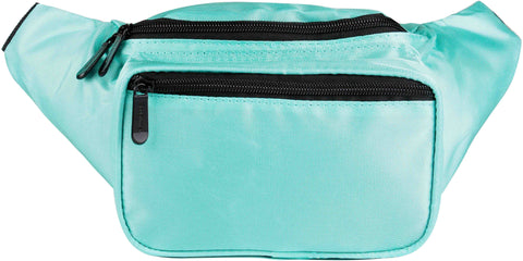 Fanny Pack Solid Color Fanny Pack (Teal) - SoJourner Bags