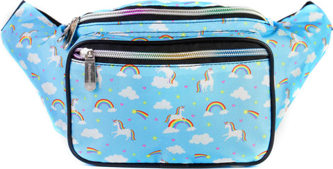 Fanny Pack Rainbows & Unicorns Fanny Pack - SoJourner Bags