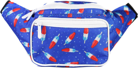 Fanny Pack USA Bombpop 4th of July Fanny Pack - SoJourner Bags