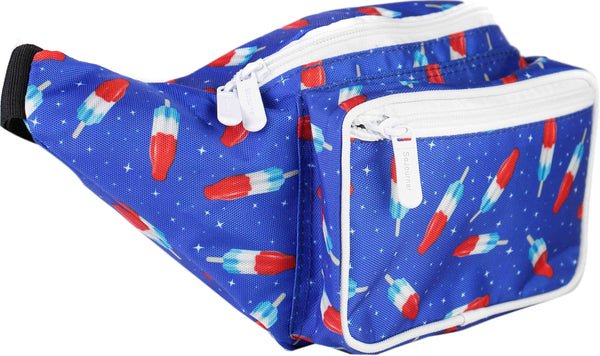 Usa Bombpop 4th Of July Fanny Pack Sojourner Bags