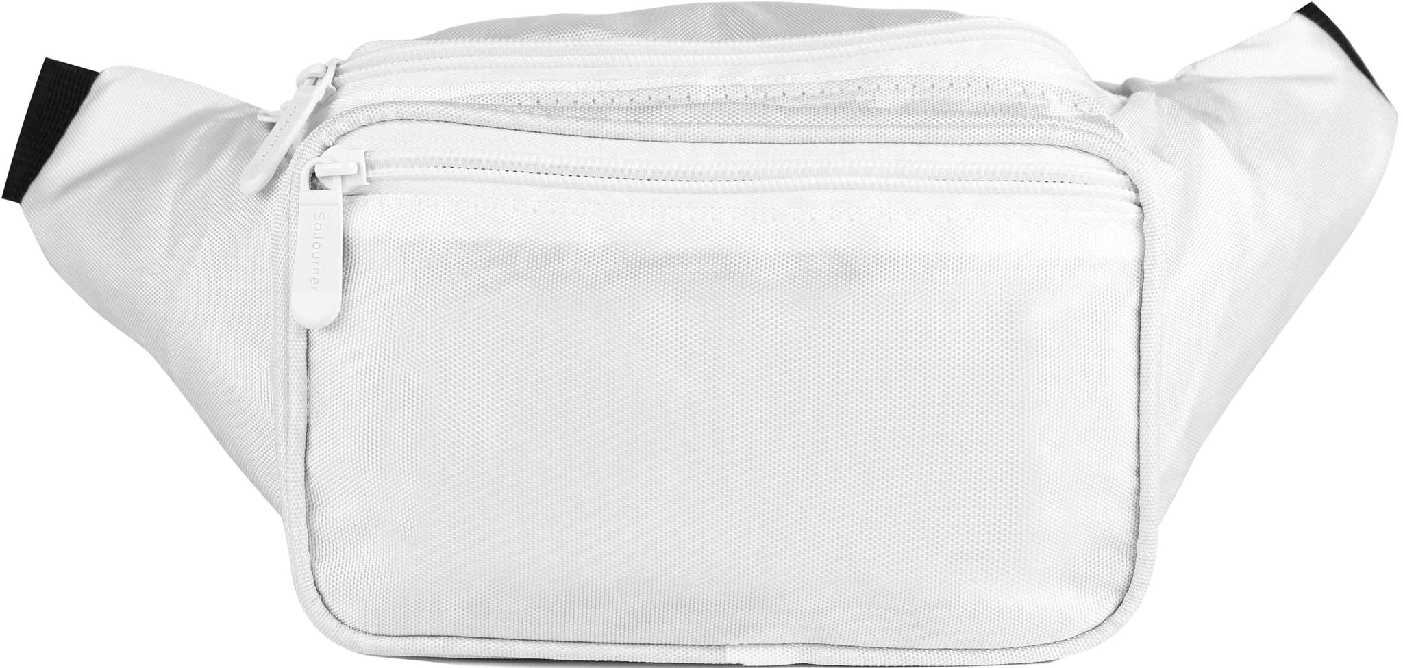 Solid Color Fanny Pack (White)