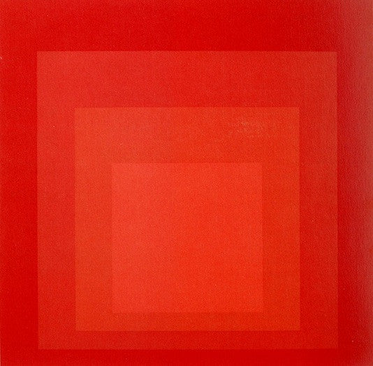 Josef Albers sees Red.