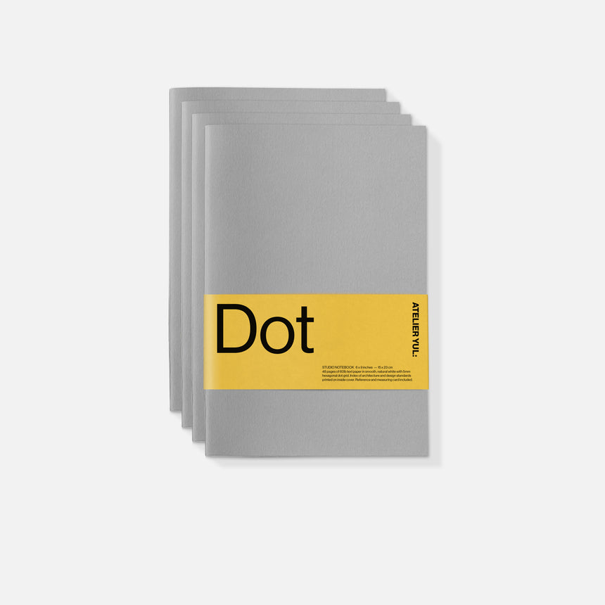 Dot Notebook 4-pack