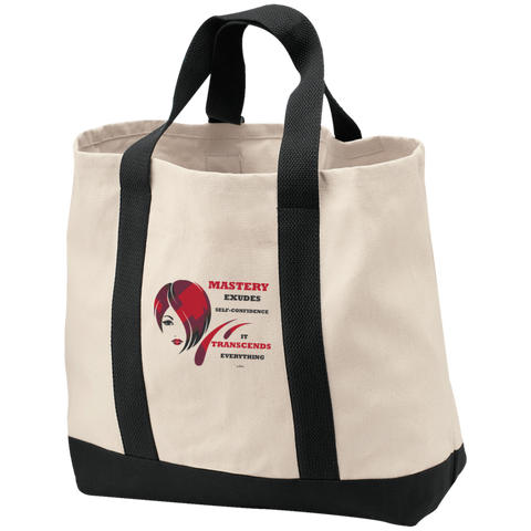 Cosmetologist/Beauty Care Positive Affirmation 2-Tone Shopping Tote-