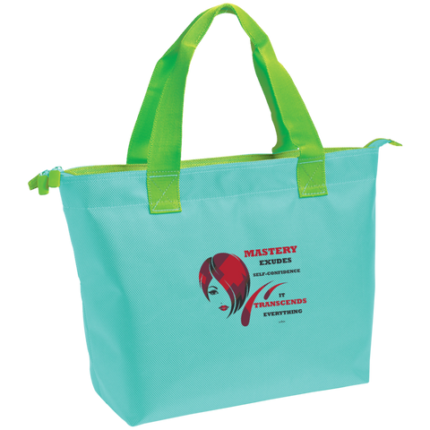 Cosmetologist Zippered Tote Spiritual Inspirational Affirmation - Well Being Addict.Com