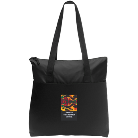 Zip Top Tote Spiritual Inspirational Affirmation