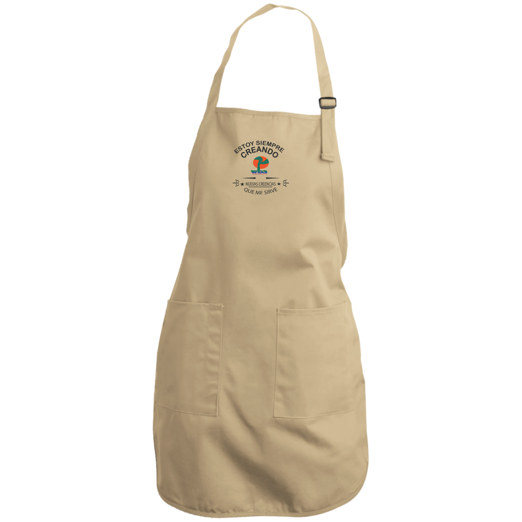 Create Your Own Full Length Apron - Estoy Creando . . . . - Well Being Addict.Com