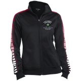 Ladies Dot Print Warm Up Jacket - Well Being Addict.Com