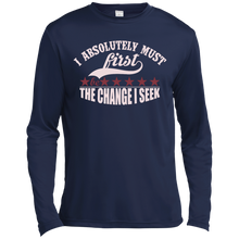 "Load image into Gallery viewer, Customized Spiritual Inspirational Affirmations Long Sleeve Moisture ""I Absolutely. . "" - Well Being Addict.Com"