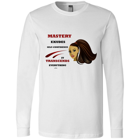 Cosmetologist Affirmations Bella+Canvas Men's Jersey Long Sleeve - Well Being Addict.Com