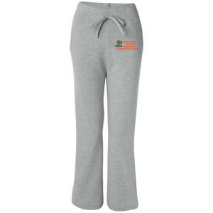 "Women's Open Bottom Sweatpants with Pockets""THINGS ARE ALWAYS MAGICALLY WORKING OUT FOR ME"" - Well Being Addict.Com"