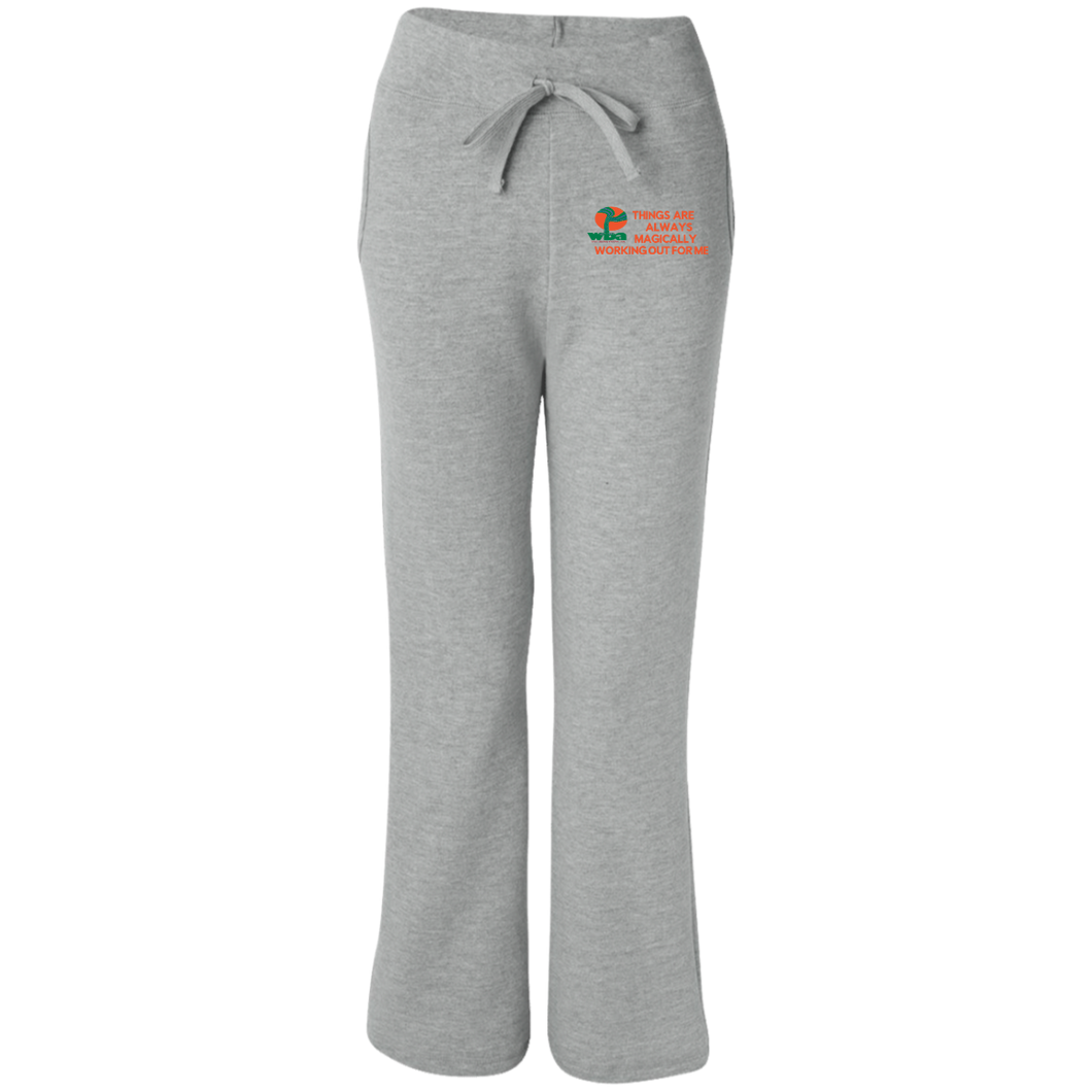 Women's Open Bottom Sweatpants with Pockets