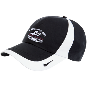 "Nike Colorblock Cap- POSITIVE AFFIRMATION ""I ABSOLUTELY MUST BE"" - Well Being Addict.Com"