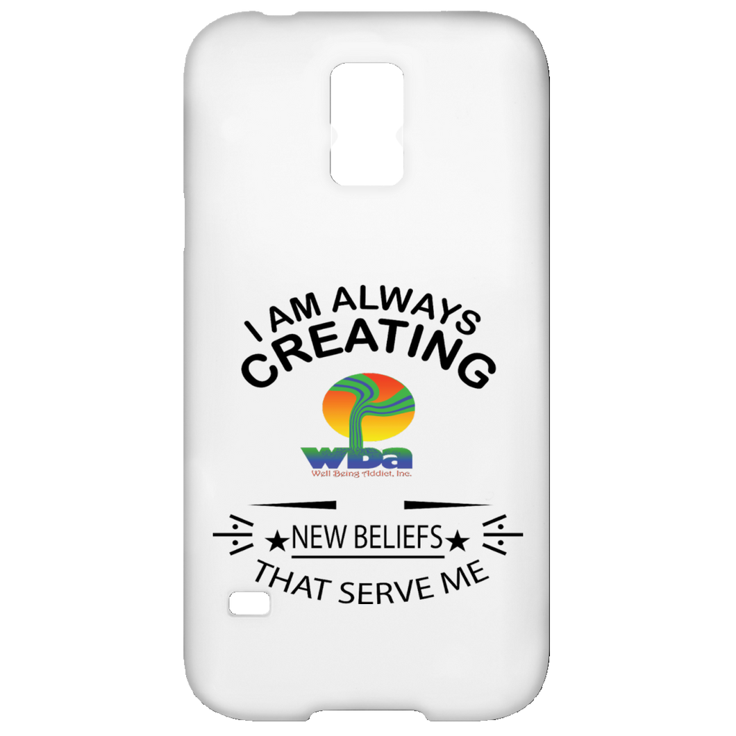 Samsung Galaxy S5 Case - Well Being Addict.Com