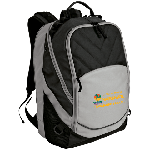 Embroidered Laptop Computer Backpack - Well Being Addict.Com