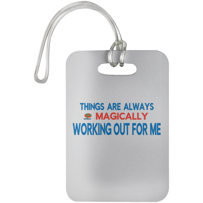 Luggage Bag Tag - Well Being Addict.Com