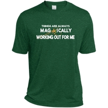 Load image into Gallery viewer, Heather Dri-Fit Moisture-Wicking Tee for Him ST PATRICK'S - Well Being Addict.Com