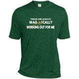 Heather Dri-Fit Moisture-Wicking Tee for Him ST PATRICK'S - Well Being Addict.Com