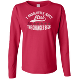 Ladies Long Sleeve Cotton TShirt
