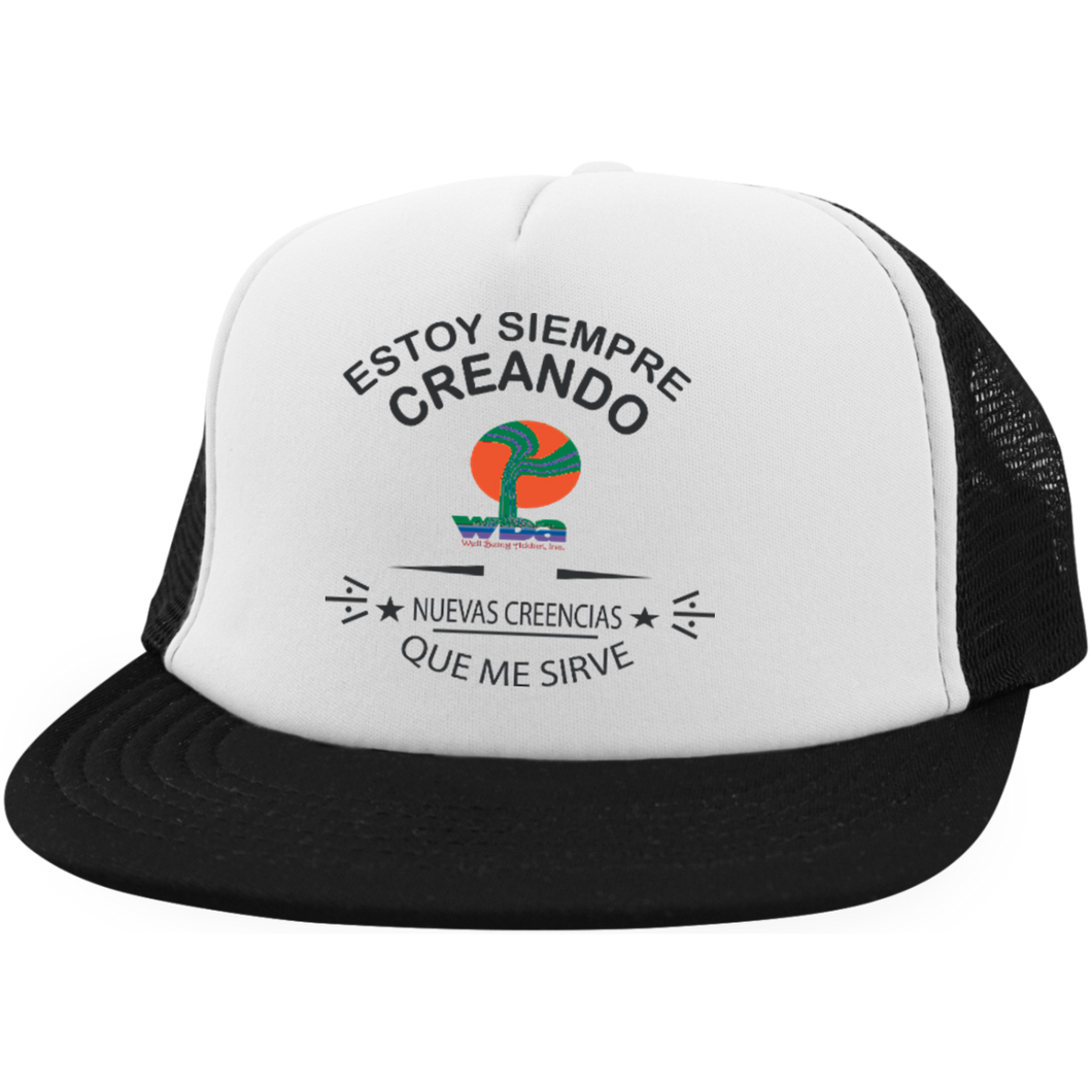 Trucker Hat with Snapback - Well Being Addict.Com