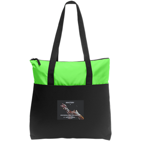 Cosmetologist Inspirational Affirmations  Zip Top Tote- - Well Being Addict.Com