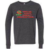 "Customized Spiritual Inspirational Affirmations Youth Jersey Long Sleeve "" Things are Always. . ."" - Well Being Addict.Com"