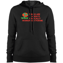 "Load image into Gallery viewer, Customized Spiritual Inspirational Affirmation Pullover Hooded Sweatshirt""THINGS ARE ALWAYS MAGICALLY"" - Well Being Addict.Com"