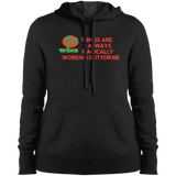 "Customized Spiritual Inspirational Affirmation Pullover Hooded Sweatshirt""THINGS ARE ALWAYS MAGICALLY"""