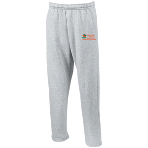"Open Bottom Sweatpants with Pockets""THINGS ARE ALWAYS MAGICALLY WORKING OUT FOR ME"" - Well Being Addict.Com"