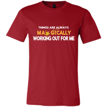 Load image into Gallery viewer, Bella Canvas Unisex Working Out For Me T-Shirt - Well Being Addict.Com