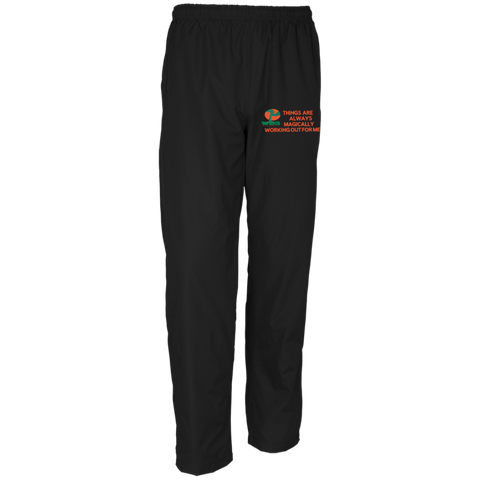 Men's Customized Wind Pant Positive Spiritual Affirmations LOA - Well Being Addict.Com