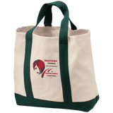 Cosmetologist/Beauty Care Positive Affirmation 2-Tone Shopping Tote- - Well Being Addict.Com