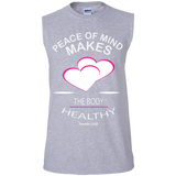 Men's Cotton Sleeveless Tee - Well Being Addict.Com